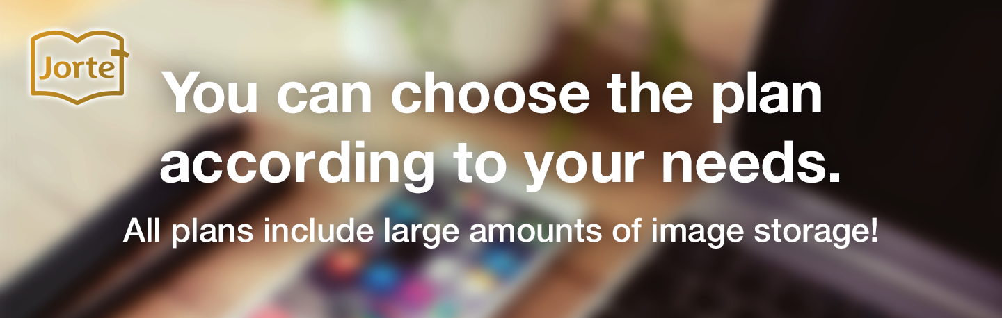 You can choose the plan according to your needs.All plans include large amounts of image storage!